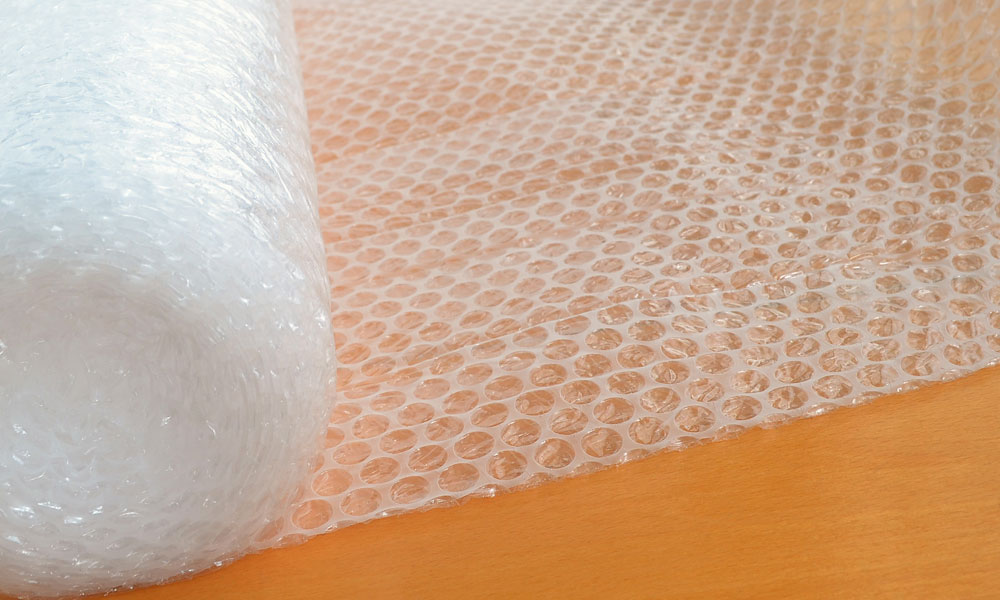 Would you Choose Bubble Wrap or Packing Paper?