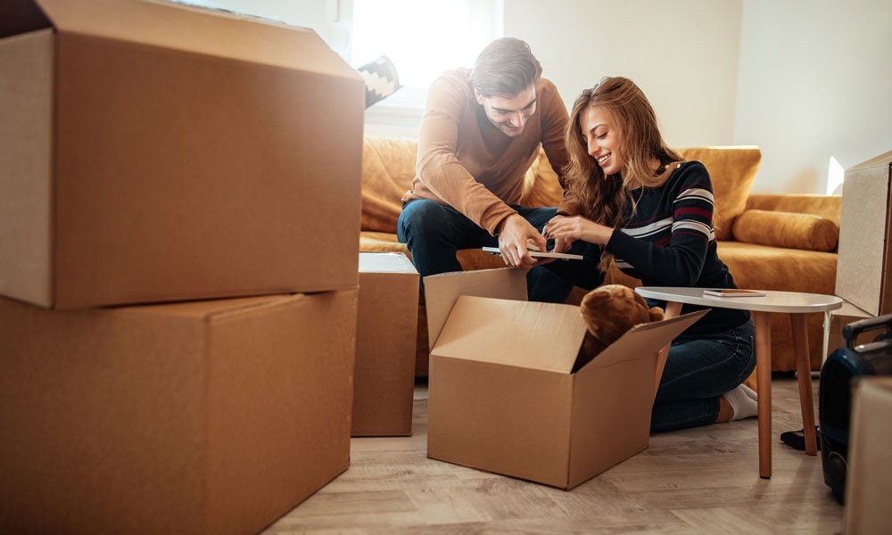 Practical Moving Tips When Moving in with your New Partner